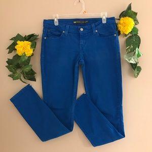 Blue Levi's Denim Curve women low rise skinny jean
